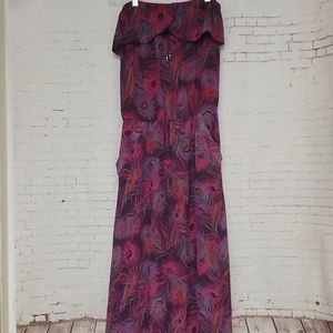 Kirra Strapless maxi dress #548